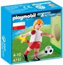 Playmobil Voetbalspeler Polen - 4731