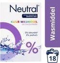 Neutral 0% Kleur Parfumvrij Waspoeder - 1,188 kg - Wasmiddel