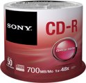 Sony Cd-recordable - CD-R 48X 700MB SPINDLE 50PCS