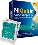 NiQuitin Clear Pleisters 21 mg - Stoppen met roken - 14 stuks