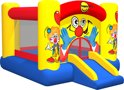 Clown Slide And Hoop Bouncer