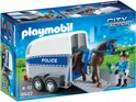 Playmobil Bereden politie met trailer - 6922