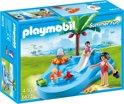 Playmobil Kinderbad met glijbaan  - 6673