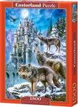 Wolves and Castle - Legpuzzel - 1500 Stukjes