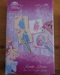 Disney princess memory( zelf kleuren)