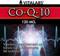VitaTabs Co-Q10 - 120 mg - 60 softgels - Voedingssupplementen