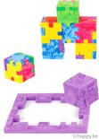 Happy Marble Cube - 6-pack cube brain teasers