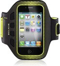 Belkin EaseFit - Apple iPhone 4/4s Sportarmband - Zwart
