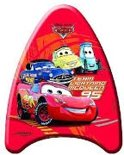 Johntoy Bodyboard cars 42cm rood