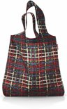 Reisenthel Mini Maxi Shopper - Wool - Zwart - Opvouwbaar