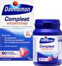 Davitamon Compleet Kauwvitamines - multivitamine - aardbei - 60 tabletten