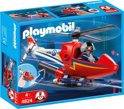 Playmobil Brandweerhelikopter - 4824