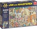 Jan van Haasteren De Bouwplaats - Puzzel 3000 Stukjes