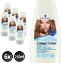 Schwarzkopf Anti-Klit - 6x  250 ml - Voordeelverpakking - Conditioner