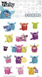 Stickers Furby 3 vellen
