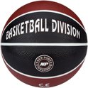 New Port Mini Basketbal Print - Bordeaux/Zwart/Wit - 3