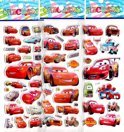 Vier Stickervellen 2x CARS + 2x Frozen - Ca. 50 Stickers - Bubble 3D Stickers