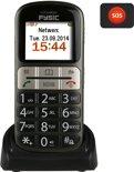 Fysic FM-7800 Comfort GSM | SOS Noodknop, Grote toetsen, Grote cijfers en letters | Zwart / Zilver