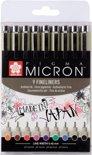 SAKURA Pigma Micron 05 | Fineliners 0,45 mm (9 kleuren)