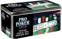 Pro Poker Texas Hold em set - Kaartspel