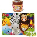 Simply for Kids 36119 Vloerpuzzel Jungle