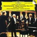 Beethoven: Piano Concerti 3 & 4 / K Zimerman, Bernstein