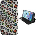 Colorfone PREMIUM Book2 Case/ Hoesje voor de Apple iPhone 6 Zilver