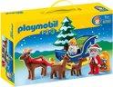 Playmobil 123 Kerstman met rendierslee - 6787
