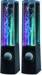 Edco Speaker Water Dance 4 LED Water Dance LED-effect luidsprekers Meerkleurig