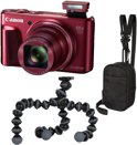 Canon PowerShot SX720 HS Travel Kit - Rood