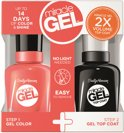 Sally Hansen Miracle Gel + Top Coat DUOPACK - 411 Ba-Bloom - Gelnagellak en Top Coat