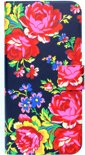 Accessorize - Navy Rose Diary Case (Iphone 5/5S)