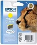 Epson T071 - Inktcartridge / Geel