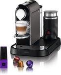 Nespresso Krups CitiZ & Milk XN730T - Titanium