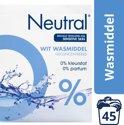 Neutral 0% Wit Parfumvrij Waspoeder - 3 kg - Wasmiddel