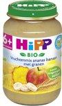 HiPP Bio mlt. 6m - Vruchtenmix Ananas Banaan met Granen - 6 stuks 190gr