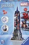 Ravensburger Empire State Building Marvel Avengers- 3D puzzel gebouw - 216 stukjes