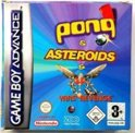 3 Games In 1: Asteroids + Pong + Yars Revenge (GBA)