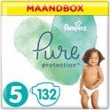 Pampers Pure Protection Luiers - Maat 5 (Junior) - 11+ kg - Voordeelpak - 132 Stuks