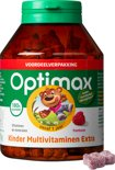 Optimax Kinder Multi EXTRA framboos - 180 kauwbeertjes
