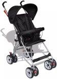 vidaXL - Kinderwagen Moderne kinderwagen zwart