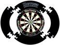 Harrows Dartbord Surround Zwart - 4 pieces