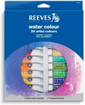 Reeves aquarelverf set 24 tubes