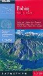 Wandelkaart Bohinj - Triglav - Krn - Crna prst (Julische Alpen) Slovenie