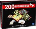 King 200 Spellendoos - Grote Doos met 200 verschillende Spellen - Inclusief Handleiding