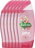 Badedas Feel Uplifted - 6 x 250  ml - Douchegel - Voordeelverpakking