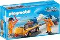 Playmobil Luchtverkeersleiders met bagagetransport - 5396