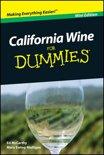 Mary Ewing-Mulligan - California Wine For Dummies, Mini Edition
