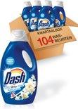 Dash April Fresh Kwartaalbox - 104 Wasbeurten - 4 x 1600 ml - Vloeibaar Wasmiddel
