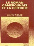 Le roman camerounais et la critique